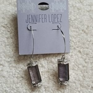 Jennifer Lopez drop earrings